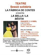 Representació de La Bella i la Bèstia amb finalitat solidària al Prat de Llobregat