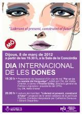 """Presentació d'<em>Un cop de mà</em> especial """"Per un ús no sexista del llenguatge"""", en el Dia Internacional de les Dones, a Montmeló"""