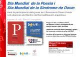 Dia Mundial de la Poesia i Dia Internacional de la Síndrome de Down
