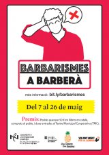 Concurs lingüístic <em>Barbarismes a Barberà</em>