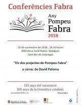 Conferència a Sant Boi: