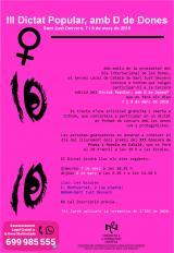 III Dictat Popular, amb D de Dones