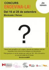 Concurs lingüístic <em>Endevina-la!</em> a comerços de Montcada