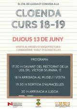 Cloenda del curs 2018-2019 al CNL de Lleida