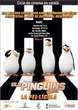 Els pingüins de Madagascar al XVIII Cicle de cinema infantil en català de Castelldefels