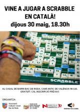 Vine a jugar a Scrabble en català