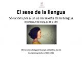 El sexe de la llengua. Solucions per a un ús no sexista de la llengua