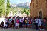 La cartoixa d'Escaladei, escenari de la cloenda del curs escolar a Tarragona