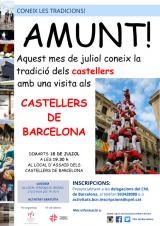 Visita als Castellers de Barcelona