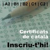 Inscripció a les proves per als certificats de català (per lliure)