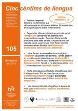 Cinc cèntims de llengua 105