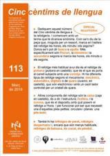 Cinc cèntims de llengua 113