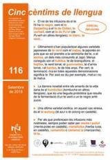 Cinc cèntims de llengua 116