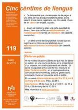 Cinc cèntims de llengua 119