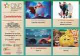 Emoji al XXI Cicle de cinema infantil en català de Castelldefels (CINC)