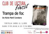 Club de Lectura Fàcil de Tortosa: tertúlia sobre el llibre 'Trampa de foc'