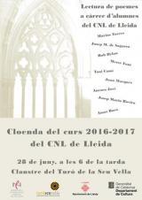 Cloenda del curs 2016-2017 del CNL de Lleida