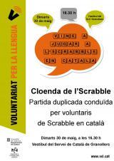 Juguem a l'Scrabble en català en la cloenda del VxL i dels CCA de Granollers
