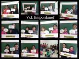 Tercera escola de la Bisbal a participar al VxL: L'Empordanet