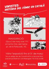 """Exposició """"Vinyetes: història del còmic en català"""""""