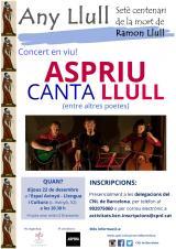Concert en viu 'Aspriu canta Llull'
