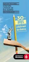 30a edició del Concurs literari de Nou Barris