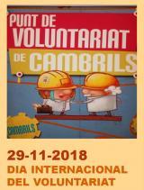 Mostra d'entitats de voluntariat de Cambrils