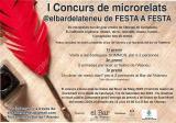 I Concurs de microrelats <em>De festa a festa</em> a Cerdanyola