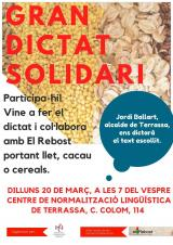 Gran Dictat Solidari de Terrassa:
