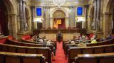 Voluntaris i aprenents al Parlament de Catalunya