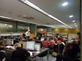 Els alumnes del C2 del Gironès participen a la Viquimarató