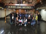 Els alumnes d'Elemental 1 visiten la fàbrica Anís del Mono de Badalona