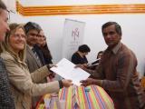 Acte de cloenda del curs de català inicial de l'Associació de Treballadors Pakistanesos