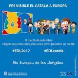 Avui és el Dia Europeu de les Llengües