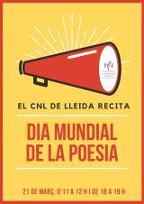 Micro obert de poesia amb els alumnes del SLC de Lleida