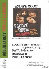 El Voluntariat per la llengua i els alumnes del CNL de l'Hospitalet van al teatre!