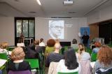 Pep Martínez, de la Delegació de les Corts, a la sessió dedicada a Salvador Espriu del cicle Escoltem els poetes.