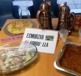 Esmorzar de forquilla a Badia per acomiadar el curs