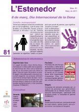 L'Estenedor 81 - Març 2011
