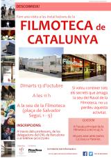 Visita a les instal·lacions de la Filmoteca de Catalunya