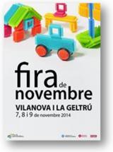 Tallers lúdics a la Fira de Novembre de Vilanova i la Geltrú