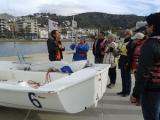 Alumnes de català de Roses assisteixen a un Taller d'interpretació d'un mapa del temps al GEN (Grup d'Esports Nàutics de Roses)