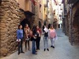Sortida per conèixer l'entorn amb els alumnes de l'Alta Ribagorça