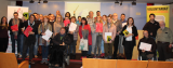 Voluntaris i aprenents inicien les trobades fent una ruta pel Museu d'Història de Catalunya