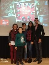 Bruce Teixeira, del CNL de Cornellà, un dels finalistes del II Concurs fotogràfic 'I tu, jugues en català?'