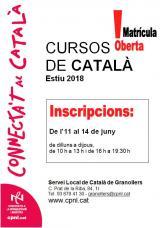Cursos d'estiu al Vallès Oriental - Juliol i agost de 2018