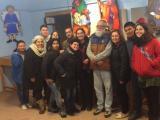 El SLC de Palau visita la mostra de pessebres