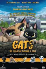 Els film d'animació japonès 'Gats. Un viatge de tornada a casa' s'estrena avui en català