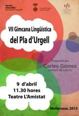 VII Final de la  Gimcana Lingüística del Pla d'Urgell
