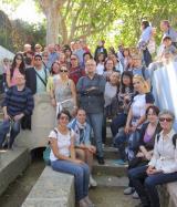 Voluntaris i aprenents de Rubí visiten Reus